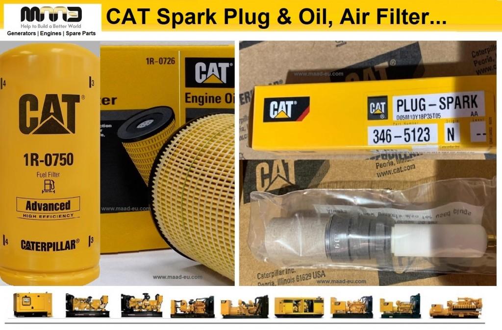 cat original spare parts and oil air filter