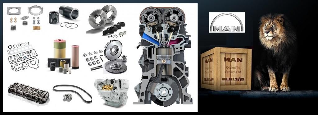 MAN Engine Parts